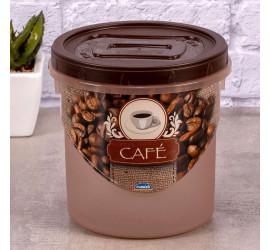 Pote de Rosquear para café Plasútil 1,8 Litros