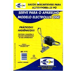 Pacote com 3 Sacos descartáveis para Aspirador de pó Electrolux One
