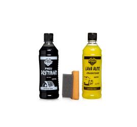 Kit Limpeza N°1 Gitanes Pretinho + Shampoo Lava Auto