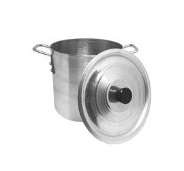 Caldeirão Alumínio Industrial Nº 26 Para Restaurante 12,7 Lt