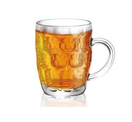 Caneca Cerveja Chopp Beer De Vidro 530ml