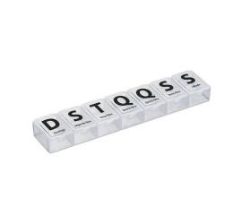 Conjunto 4 Porta Comprimidos Semanal 7 Dias