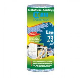Rolo Multiuso Para Limpeza 22Cm Com 23Panos