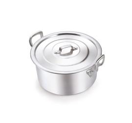 Caçarola Aluminio Industrial N.45 31,5 L Restaurante Gigante