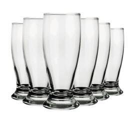 Jogo de copos de vidro Munich 200ml 8 peças