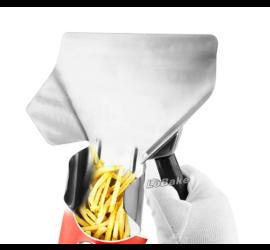 Kit 2 Pá para Batata Palito em Inox Pegador de Batata Frita