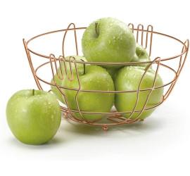 Fruteira de Mesa De Aço Cromado 24,7cm - Arthi