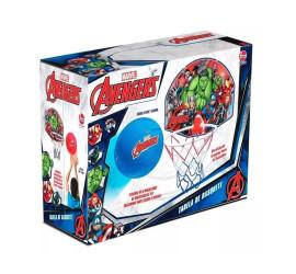 Tabela De Basquete  Vingadores-Cesta de basquete Com Bola