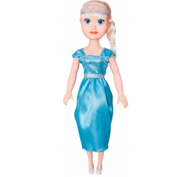 Boneca Princesa Dos Sonho Aventura Snow 50cm