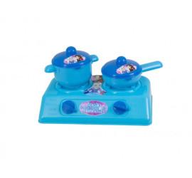 Brinquedo Cozinha Infantil Fogao Das Princesas Kendy