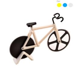 Cortador de Pizza em Aço Inox Bicicleta-Branco