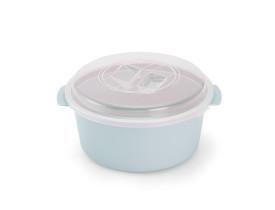Pote Redondo Container Versátil de Plástico 5,5L Cozinha