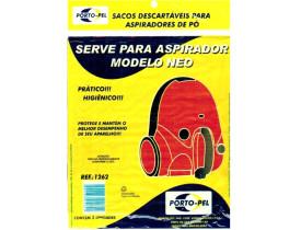 Pacote 3 Sacos para Aspiradores de Pó Serve Para Modelo Neo