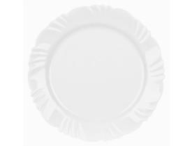 Conjunto 6 Pratos Opaline Pétala Raso branco Duralex