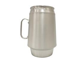 Caneca de Chopp Alumínio Ice Beer Lisa Congelante 500ml