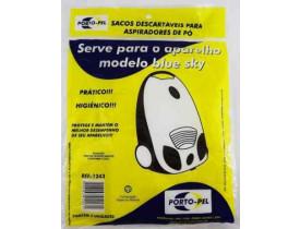 Kit Com 3 Sacos Para Aspiradores de Pó Modelo Blue Sky