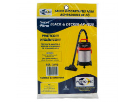 Saco Para Aspirador de Pó Black & Decker
