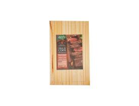 Tabua De Corte De Madeira Churrasco 37cm x 23cm
