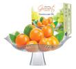 Saladeira Fruteira de Vidro com Pé Bari Gourmet 30cm