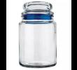 Pote de Vidro Multiuso Hermético 750ml Azul
